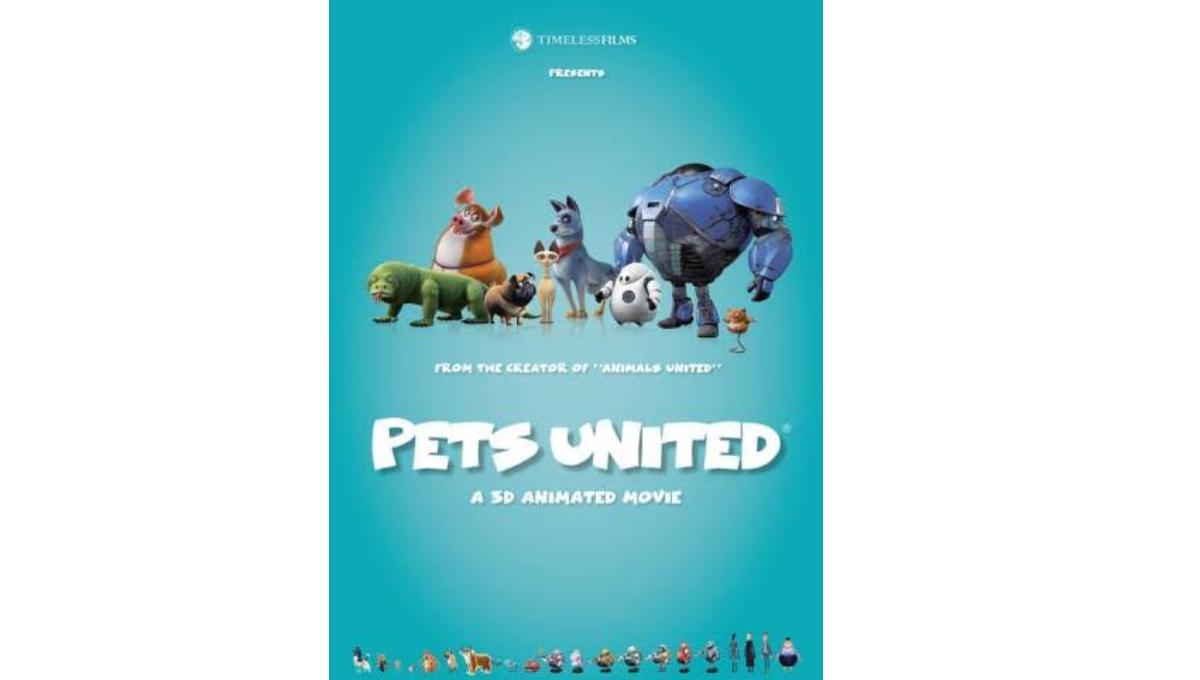 Animated adventure film