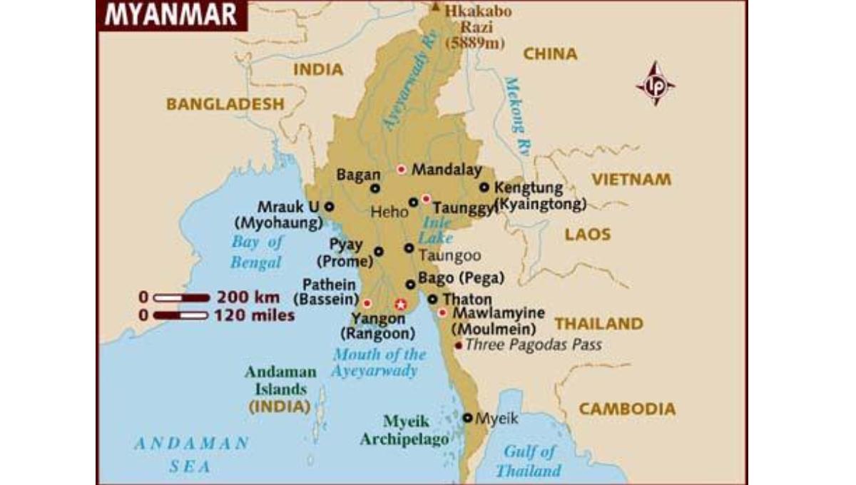 2 killed, 15 injured in truck accident in central Myanmar