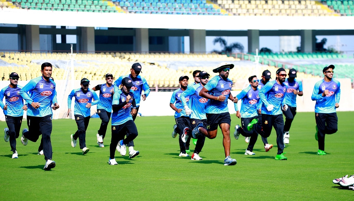 Bangladesh gearing up for 2nd T20I in Rajkot