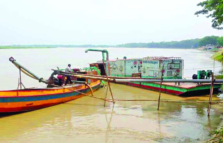 Illegal sand lifting poses erosion threat in Chattogram