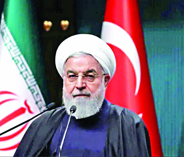 Will resume uranium enrichment at underground plant, says Rouhani