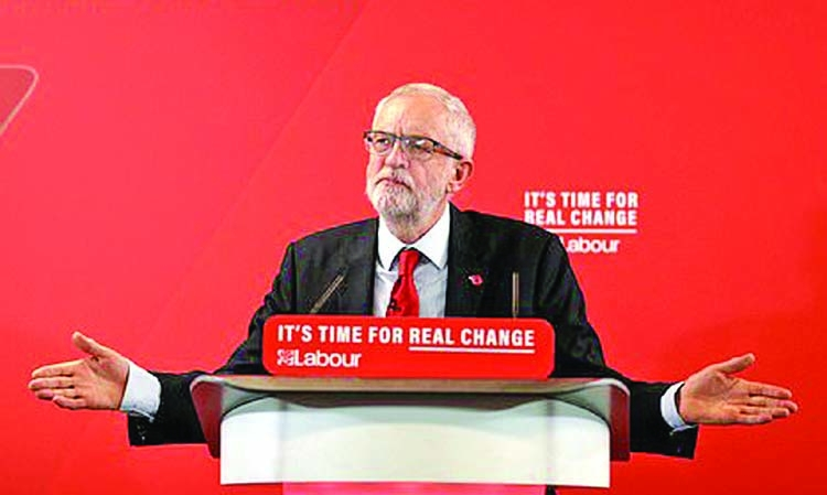 Corbyn promises to get Brexit sorted