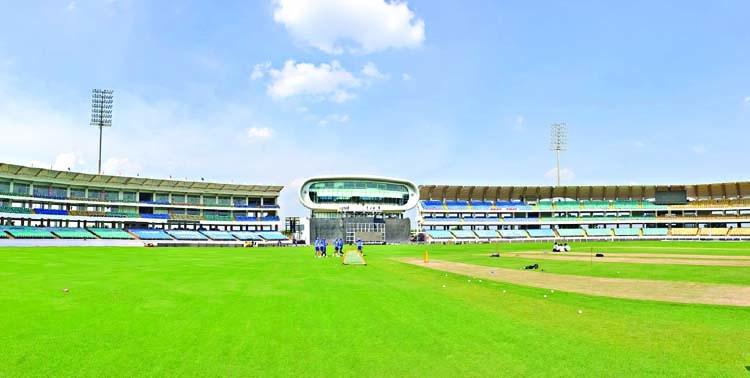 Rajkot pitch awaits a run-fest