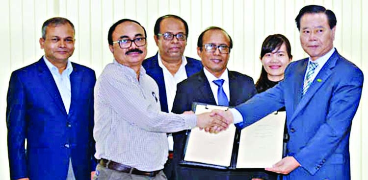 Korean firm inks MoU to set up industrial park