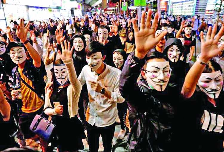 China backs bolder action over Hong Kong unrest