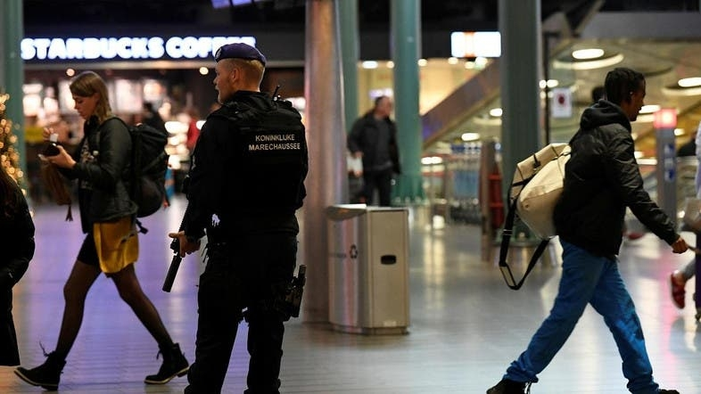 Accidental hijack alarm triggers Amsterdam airport chaos