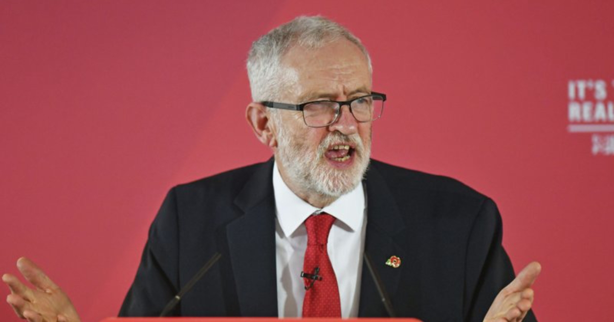 Anti-Semitism charges leveled at Labour Party's Corbyn