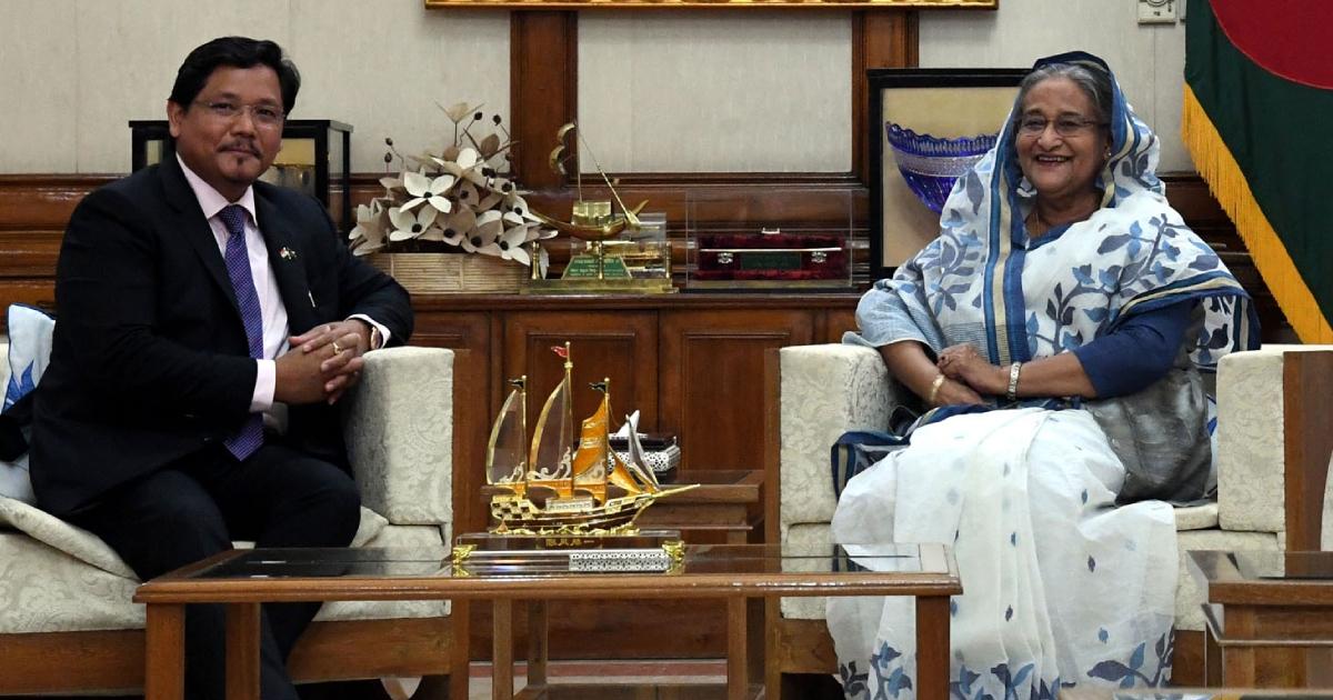 Meghalaya entrepreneurs can invest in Bangladesh: PM