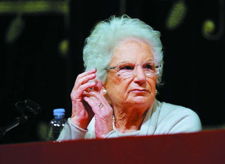 Auschwitz survivor becomes symbol of tensions in Italy
