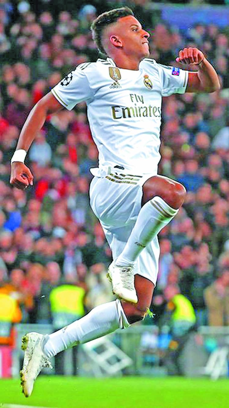 Rampant Rodrygo leads Real rout