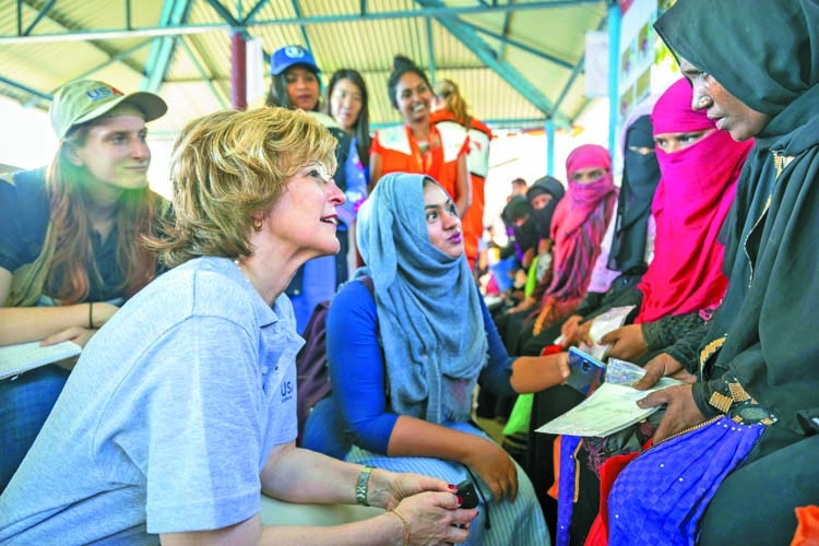 US for solving Rohingya crisis