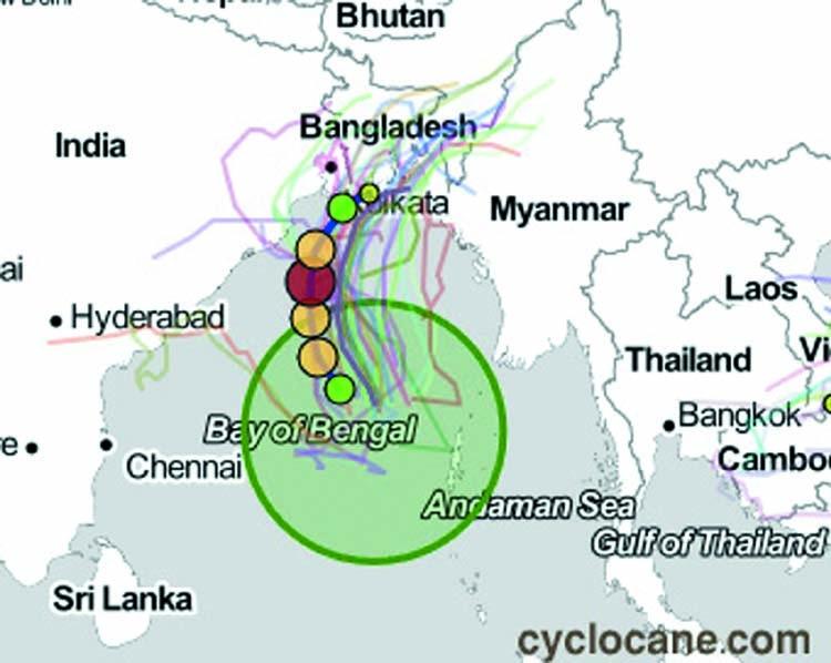 Cyclone Bulbul turns stronger
