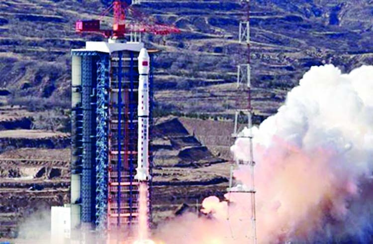 China launches Sudan's first ever satellite