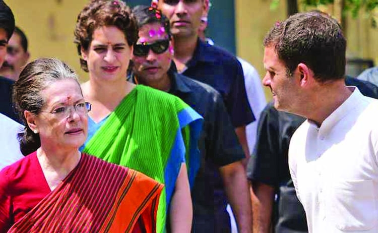SPG cover to Gandhi family withdrawn