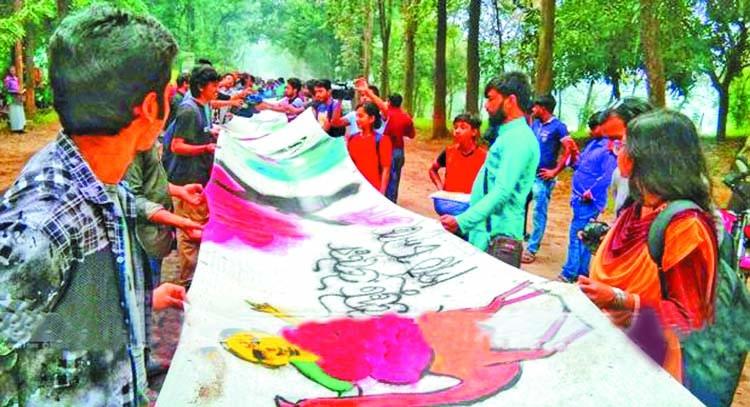 Removal of Jahangirnagar University VC demanded in patachitra