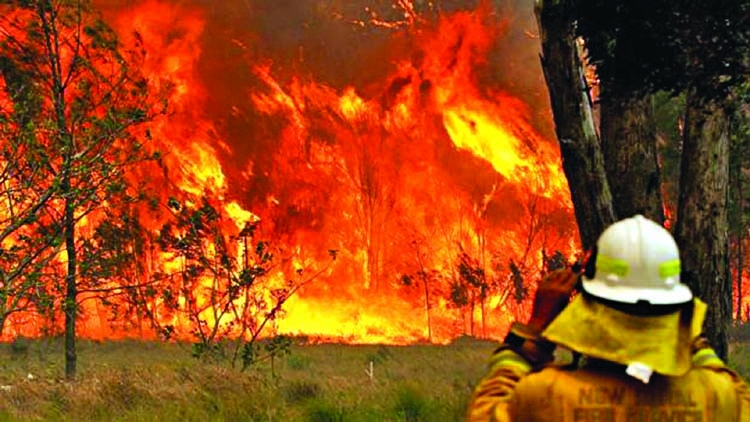 Australia bushfires: Three dead, 150 homes lost
