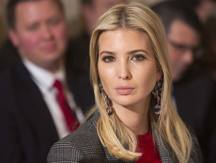 Ivanka rejects notion family profits
