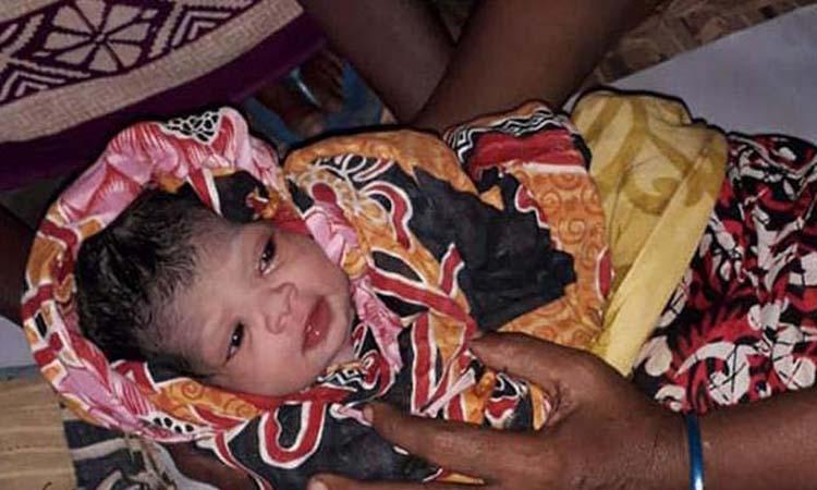 Baby girl born at Khulna cyclone shelter named 'Bulbuli'