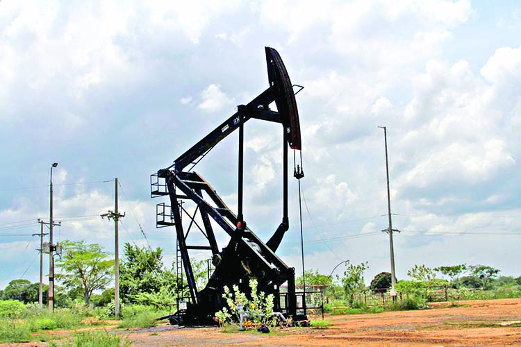 Oil drops more than 1 precent