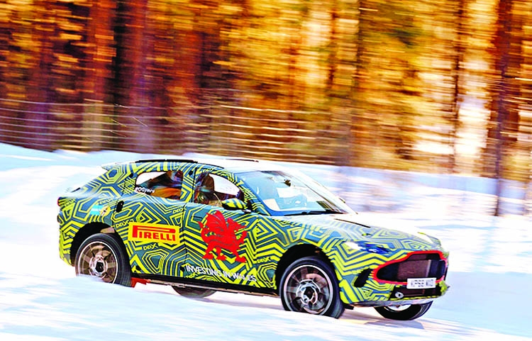 Aston Martin is locked and loaded for SUV debut