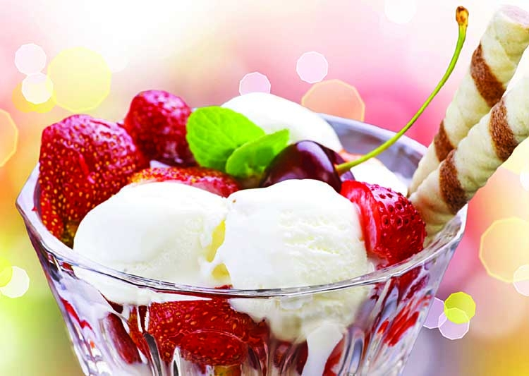 History of ice cream The origin of ice cream can be traced back to at least the 4th century BC