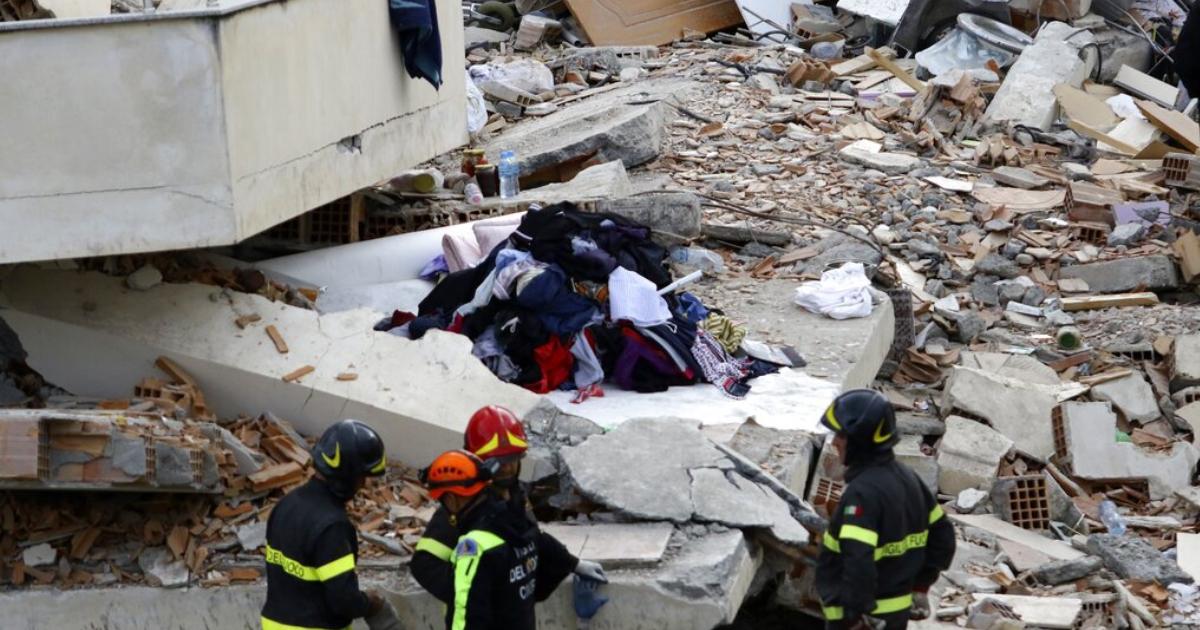 Hopes fade for any more survivors in Albania quake; 46 dead