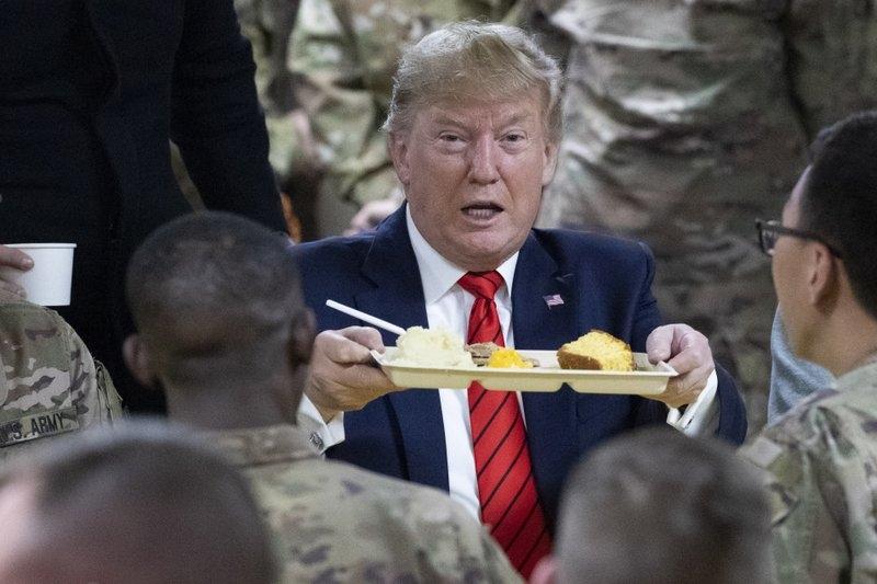 Trump visits troops in Afghanistan, reveals US-Taliban talks