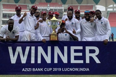 West Indies crushes Afghanistan by 9 wickets in one-off test