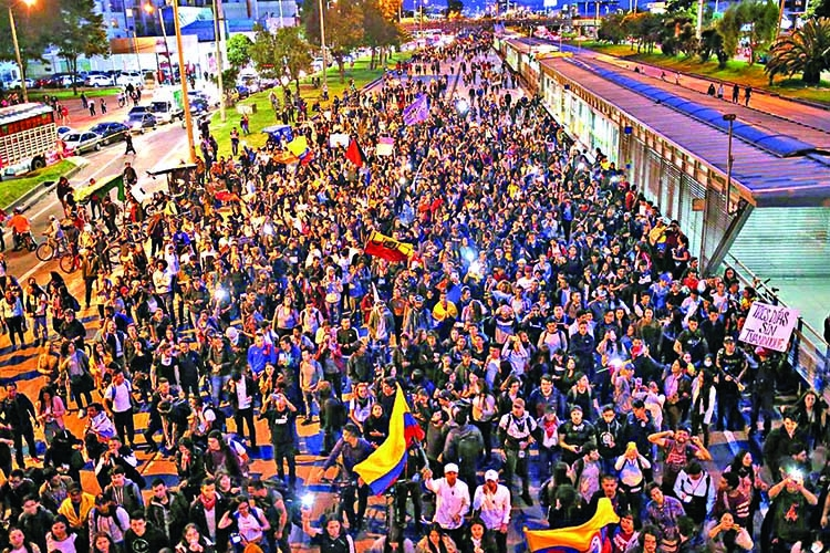 Union calls another Colombia strike