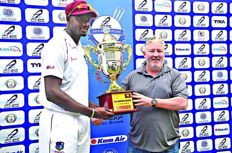 Windies crush Afghans in one-off Test
