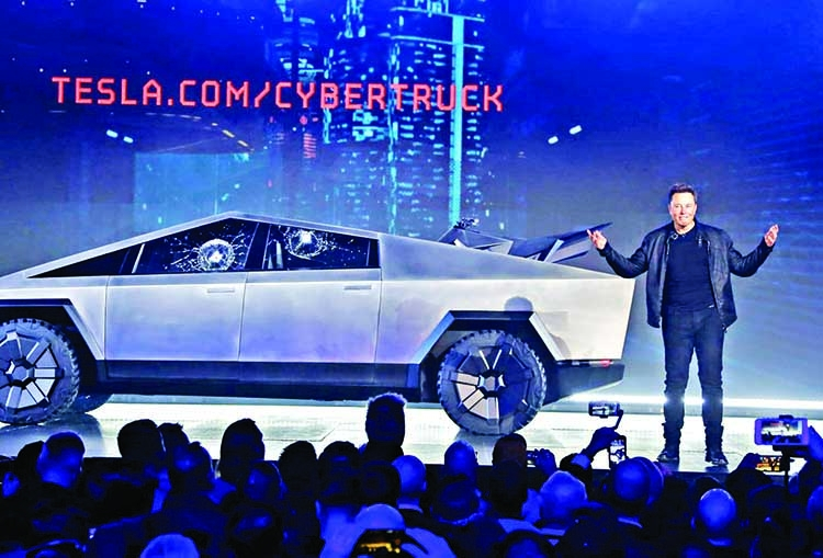 Tesla receives 146,000 pre-orders for Cybertruck