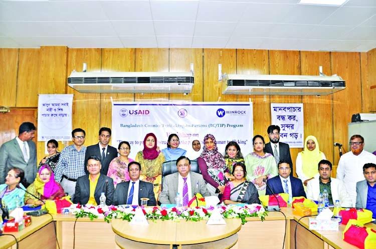 Human trafficking workshop held in Dhaka