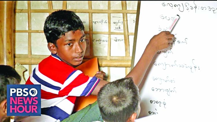 How linguistic choices affect Rohingya children
