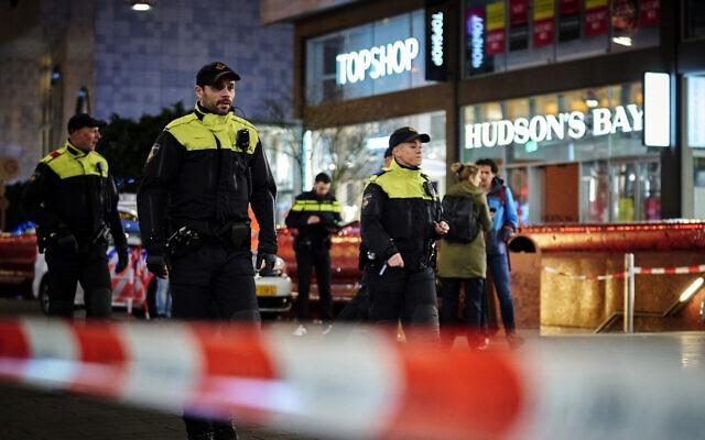 Dutch police arrest Hague knife assault suspect