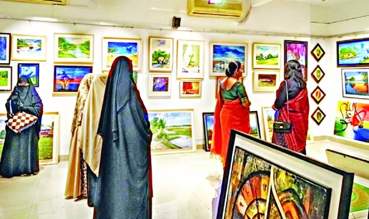 Exhibition showcasing obscure artists at Gallery 27