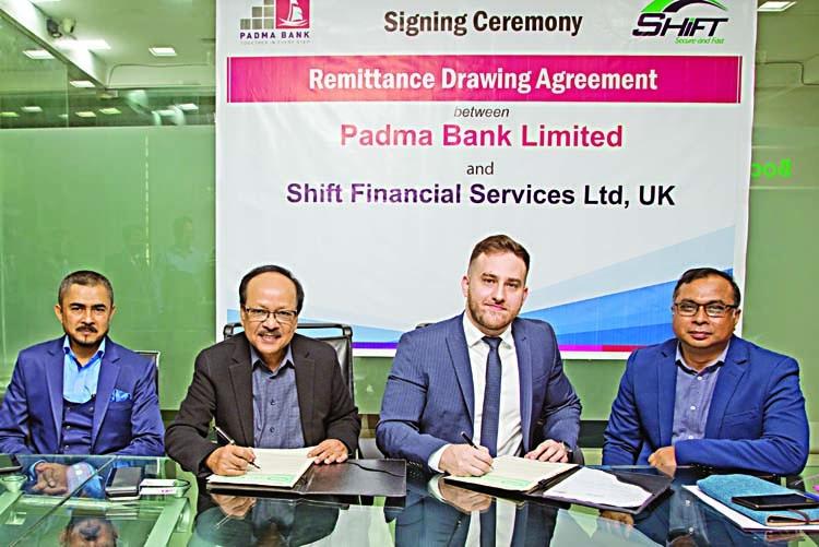 Padma Bank, Shift ink deal