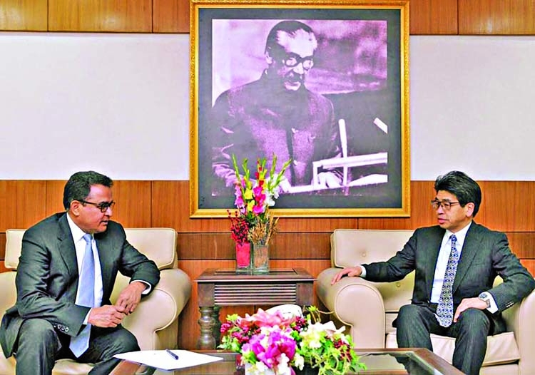 JBIC deputy governor meets Kamal