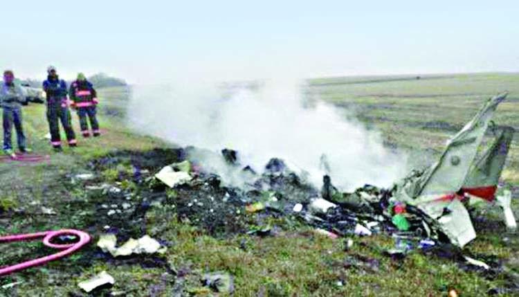 Plane crash kills nine in US