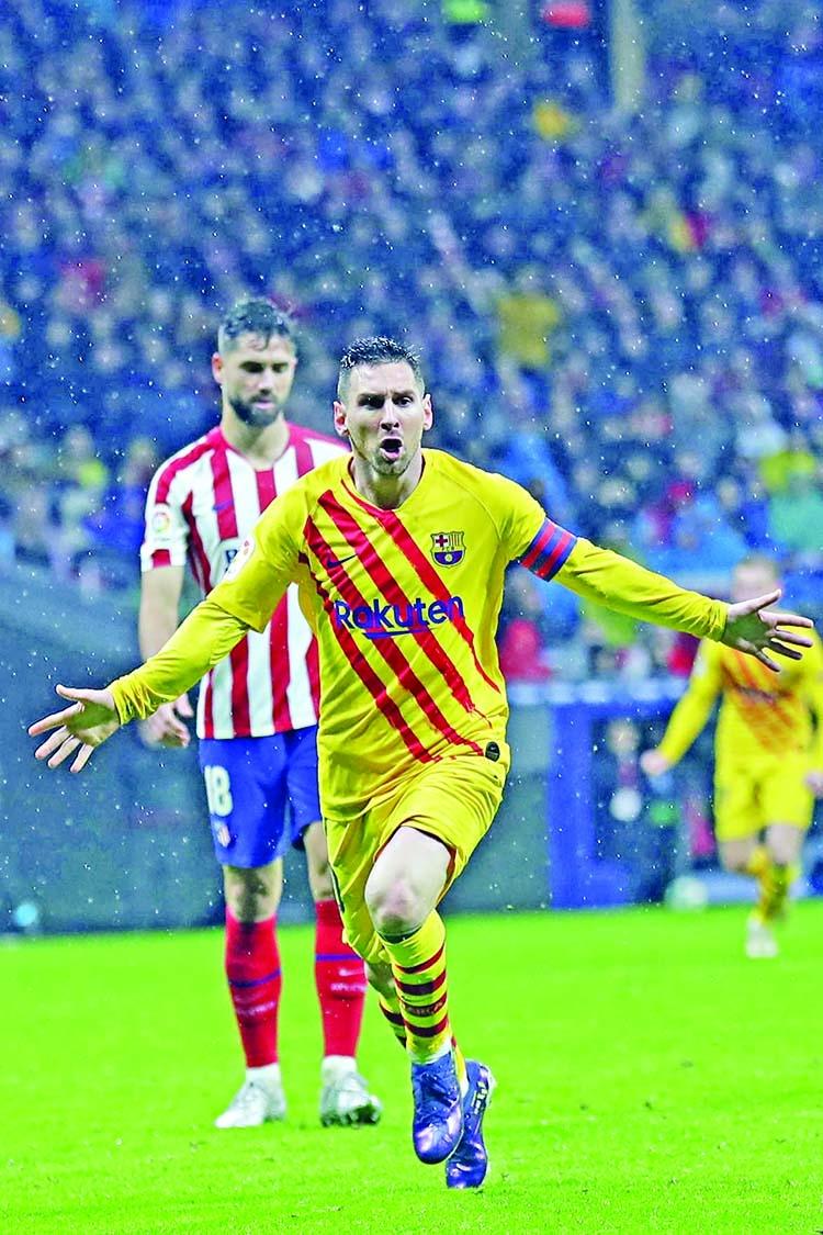 Late Messi winner sinks Atletico