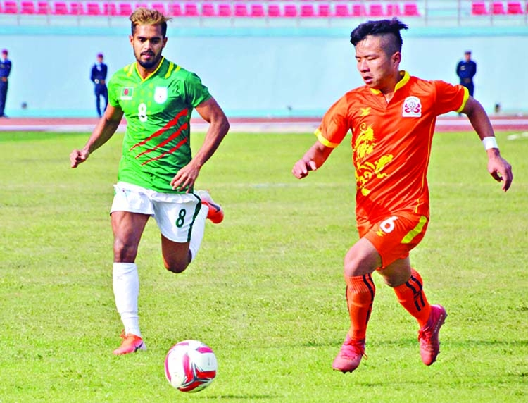 BD suffer early blow in SA Games Football