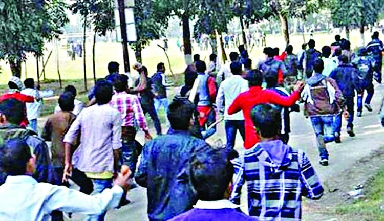 CU BCL engaged in factional clash again