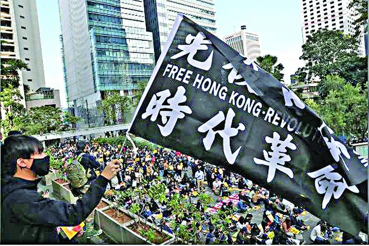 HK gears up for a week of lunchtime protests