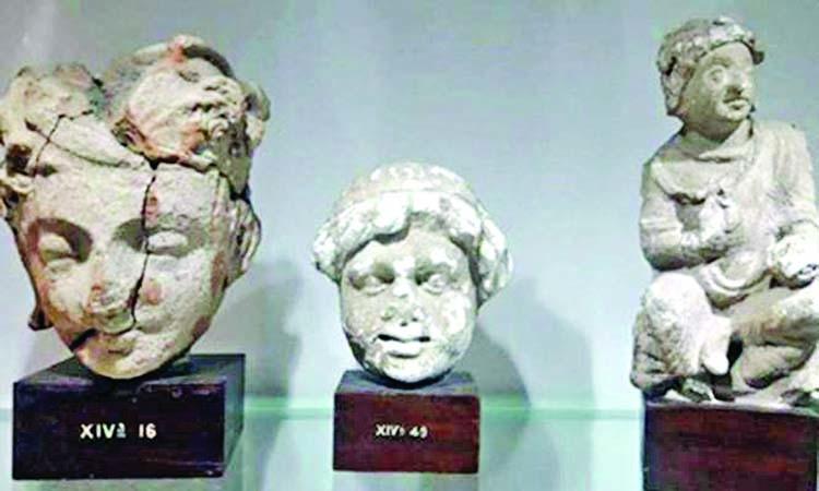 Islamabad Museum displays rare Buddha statue
