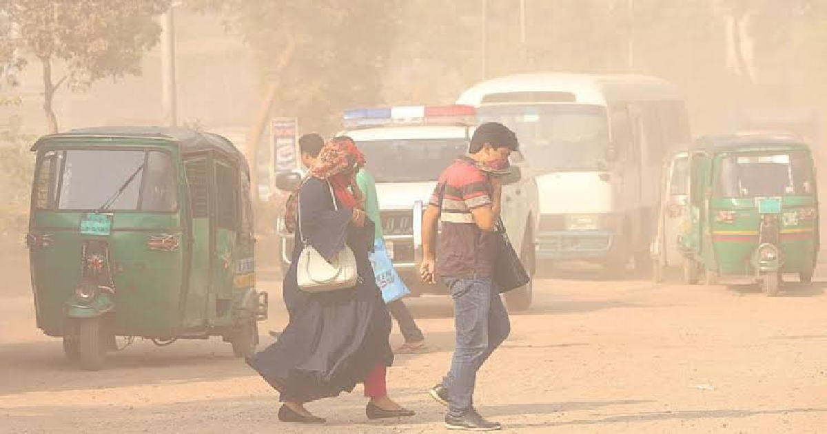 Dhaka ranks 4th worst in Air Quality Index