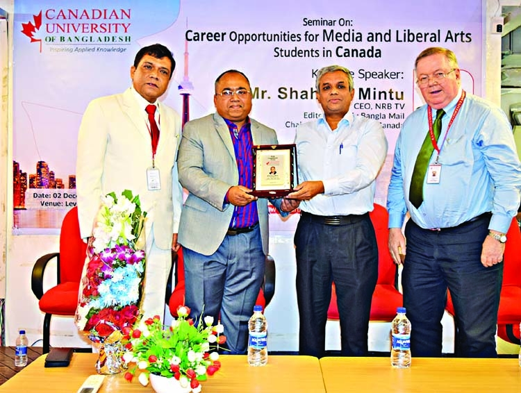 'Career Opportunities in Canada' seminar held at CUB