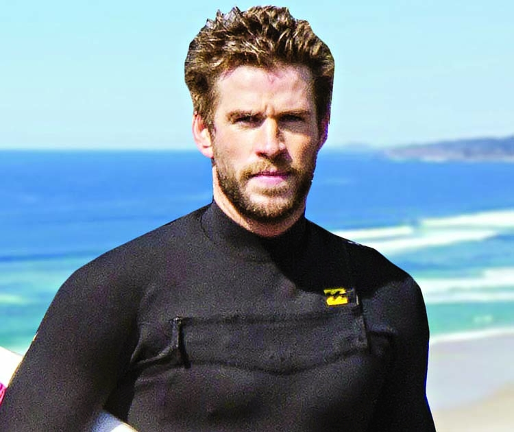 Liam Hemsworth just learned he is a 'thirst trap'