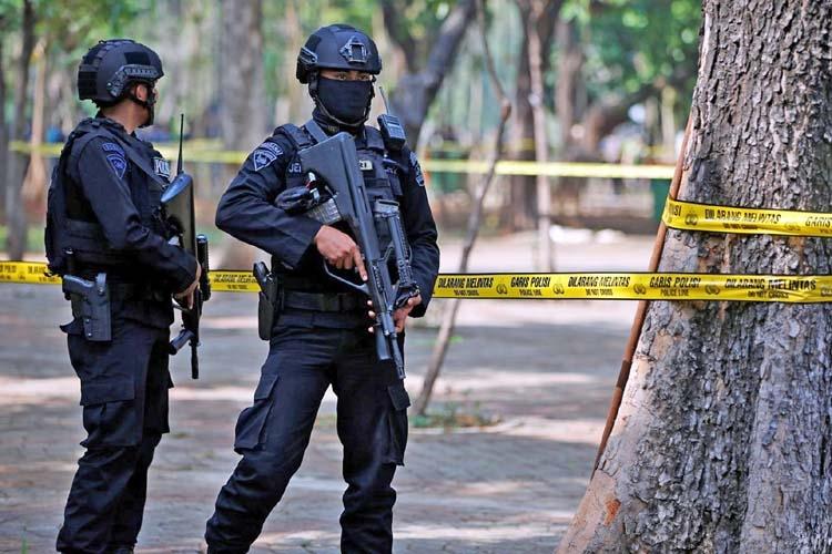 Suspected grenade blast in Indonesia