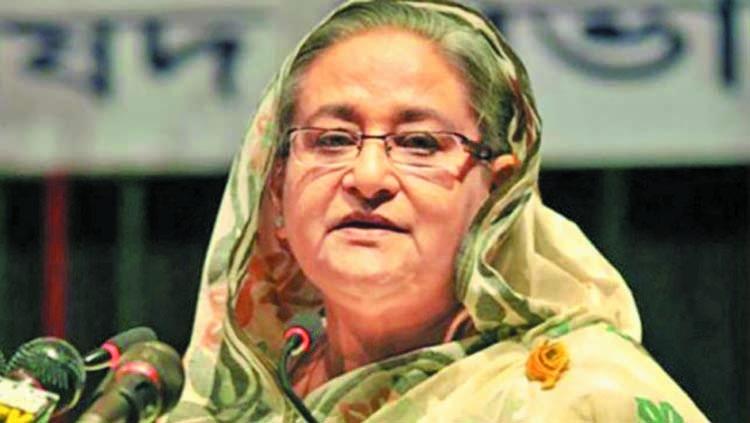 PM Hasina returns home