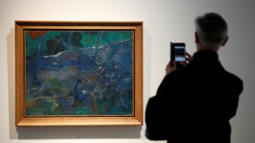Rare Gauguin canvas fetches US$10.5m