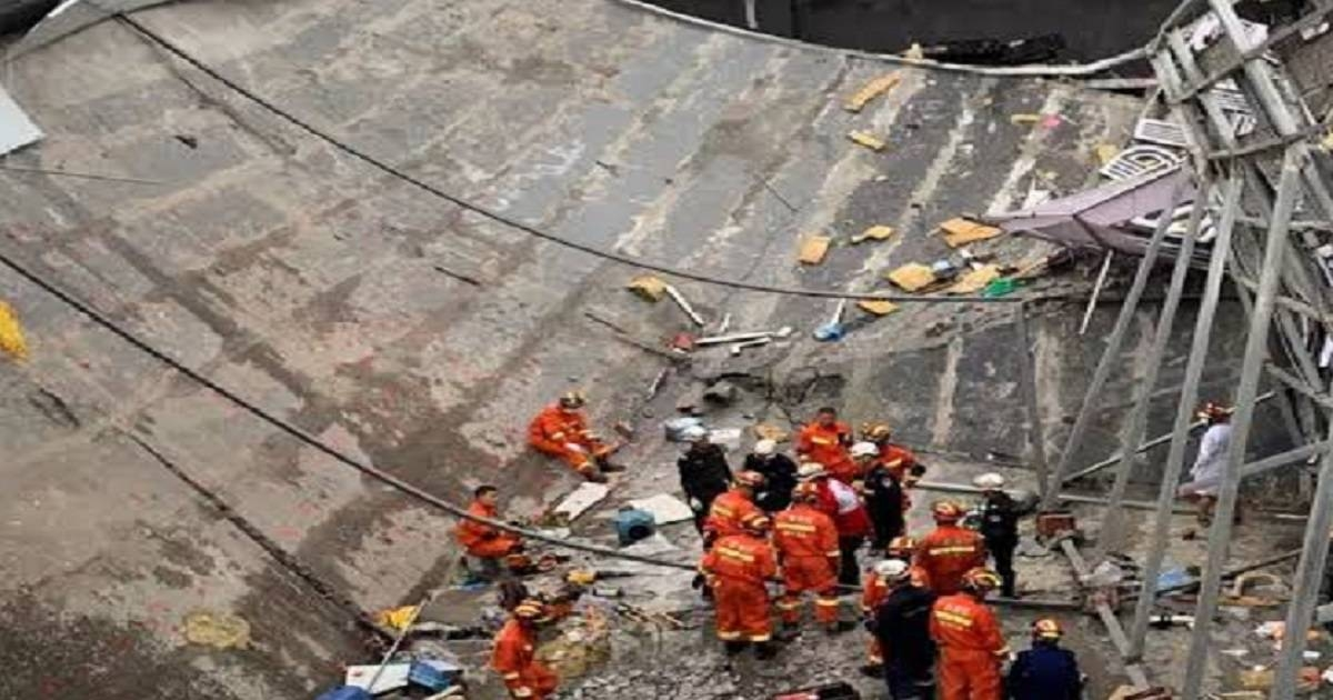 Waste tank collapse in Chinese mill kills 9 people, hurts 4